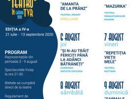 Stagiunea TEATRU ÎN TVR – programul celei de-a treia săptămâni