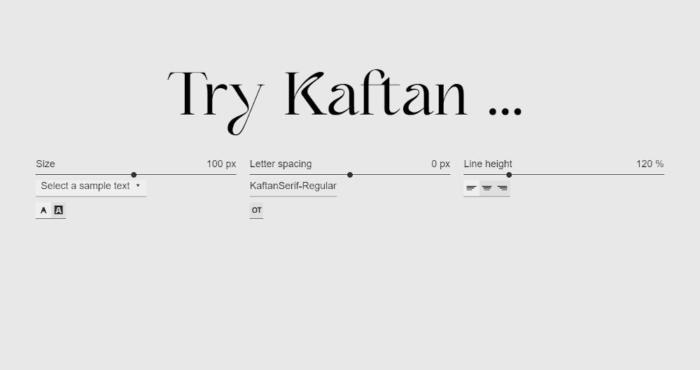 Victor Bartis_Kaftan Serif