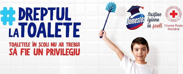 Liceul cu program sportiv din Botoșani câștigă Dreptul la toalete
