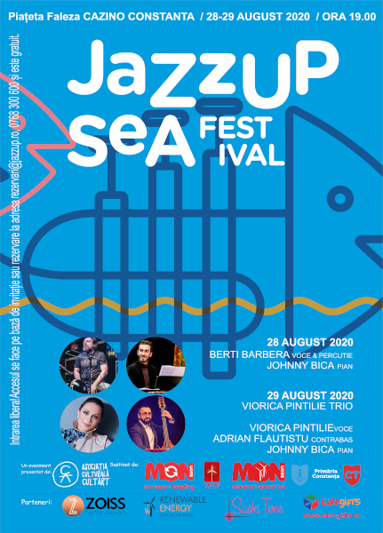 afis Jazz UP Sea Festival 2020