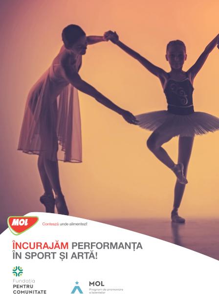 afis Programul MOL de promovare a talentelor