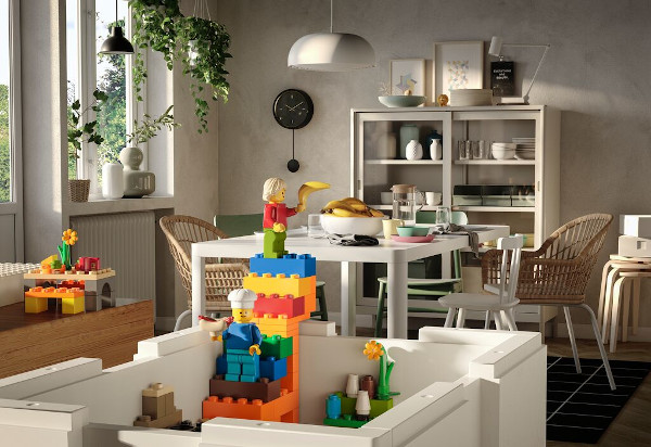 BYGGLEK Ikea Lego depozitare