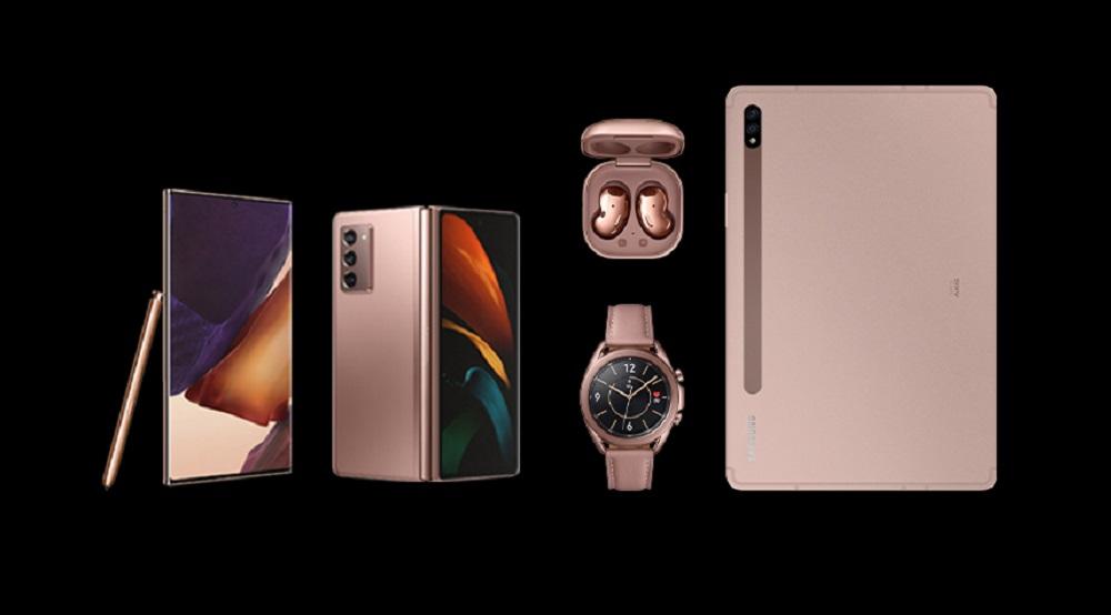 Samsung Galaxy Note20, Galaxy Watch3, Tab S7, Galaxy Z Fold2