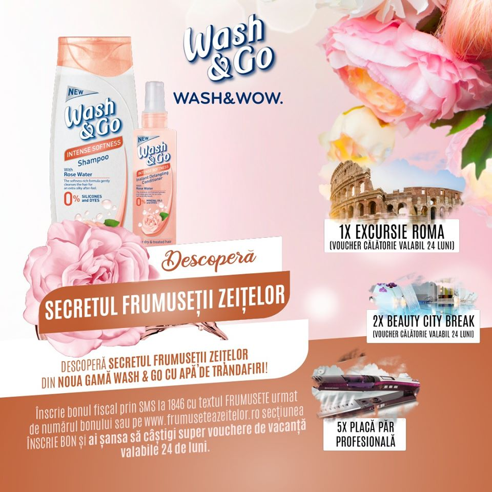 Wash&Go Rose Water