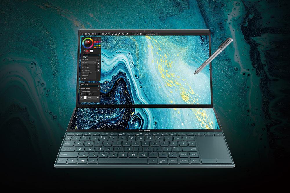 ZenBook Duo (UX481) touchscreen ScreenPad Plus