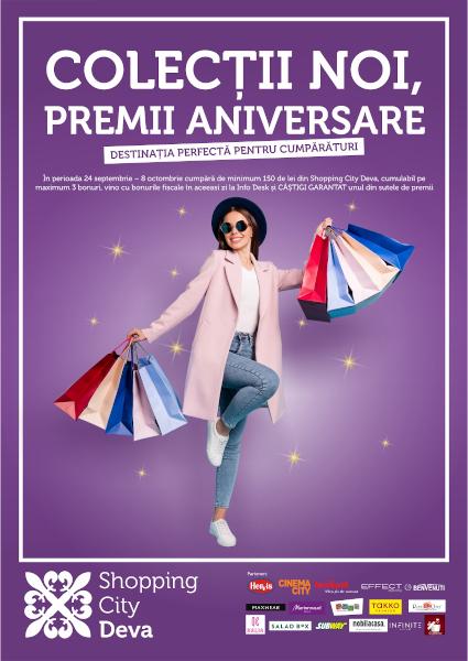 Aniversare primii 5 ani Shopping City Deva