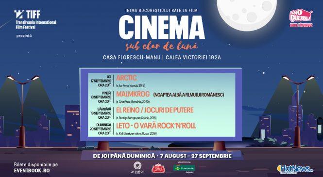 """MALMKROG (r. Cristi Puiu) și alte trei filme europene la """"Cinema sub clar de lună"""""""