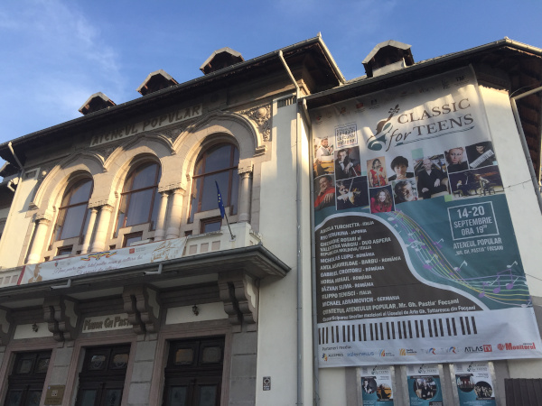 Classic for teens - Ateneul popular Focsani