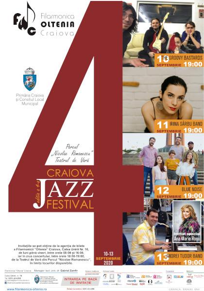 Craiova Jazz Festival, ediţia a 4-a - PRwave - stiri afaceri, stiri  marketing, case studies, stiri PR