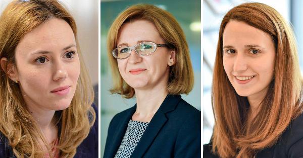Cristina Cojocaru, Larisa Popoviciu, Maria Nițulescu