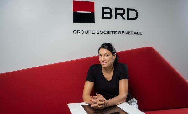 Cristina Neagu, cea mai bună jucătoare de handbal din lume, este noul ambasador al BRD Groupe Societe Generale