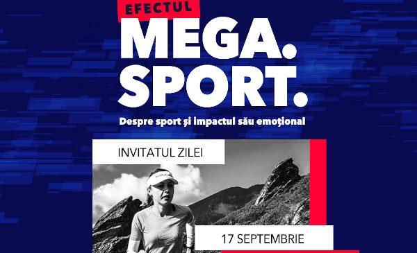 """Mega Mall lansează """"Efectul Mega. Sport."""", o emisiune online despre poveștile de viață ale unor atleți remarcabili"""