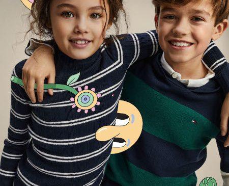Tommy Hilfiger face echipă cu Iconic-Ul Ilustrator Jeremyville pentru campania plină de viață dedicată colecției Kids 2020