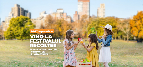 Pe 26 și 27 septembrie are loc Festivalul Recoltei la Veranda Mall