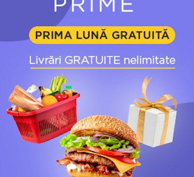 Noul serviciu Glovo Prime, cu testare gratuită în luna septembrie