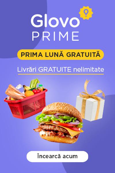 Glovo Prime, gratuit in luna septembrie
