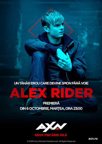KV Alex Rider AXN