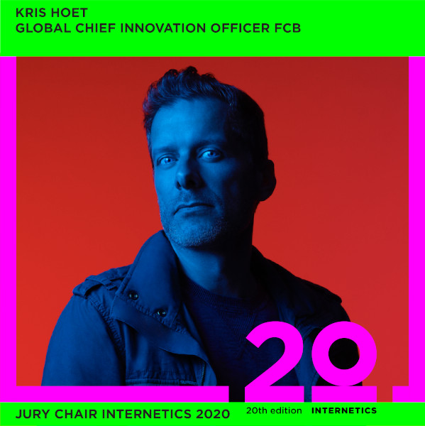 Kris Hoet, Internetics Jury Chair