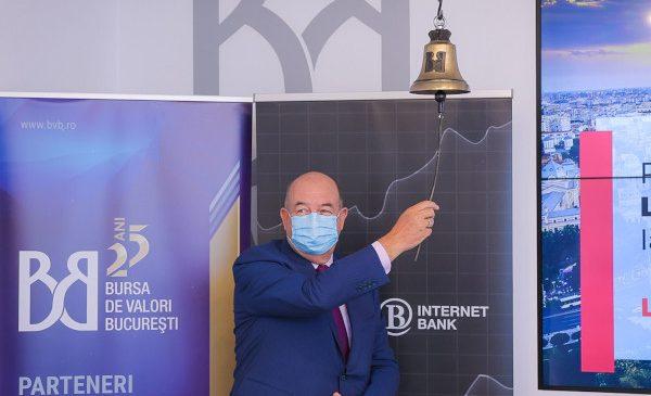 Libra Internet Bank face primul pas pe Bursa de Valori București, unde listeaza obligațiuni de 4,3 milioane euro