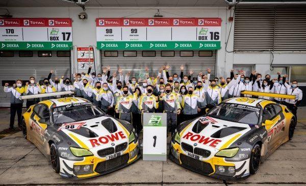 BMW obţine a 20-a victorie în clasamentul general al cursei de 24 de ore de la Nürburgring – Nick Catsburg, Alexander Sims şi Nick Yelloly au triumfat pentru ROWE Racing, cu BMW M6 GT3