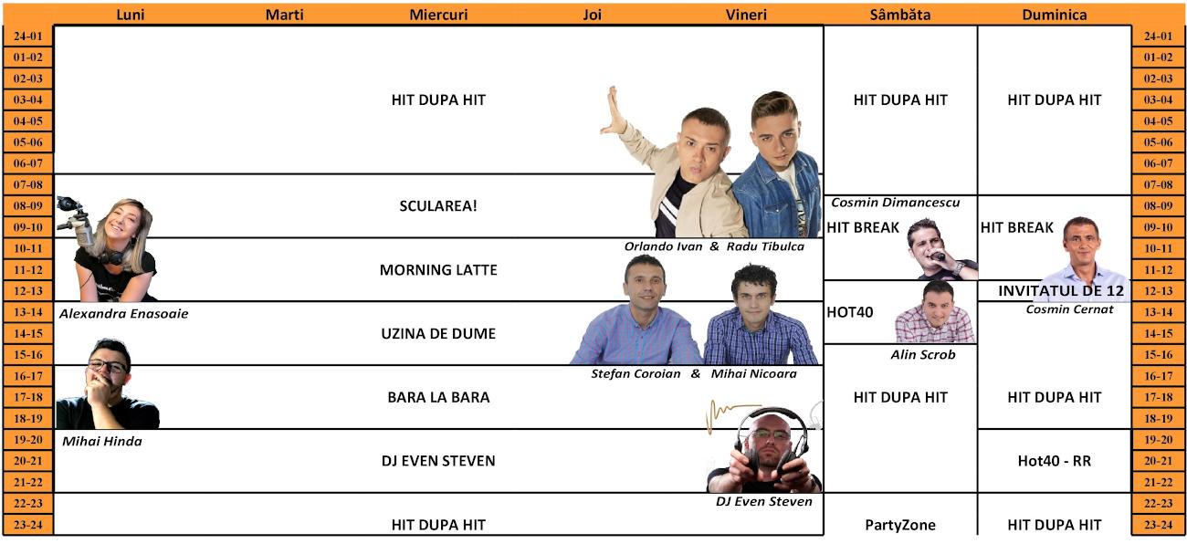 Radio Impuls - Grila de toamna 2020