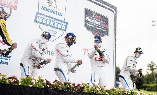 Victorie pentru BMW Team RLL la Road Atlanta – Bruno Spengler şi Connor De Phillippi au ocupat primul loc cu MOTUL BMW M8 GTE