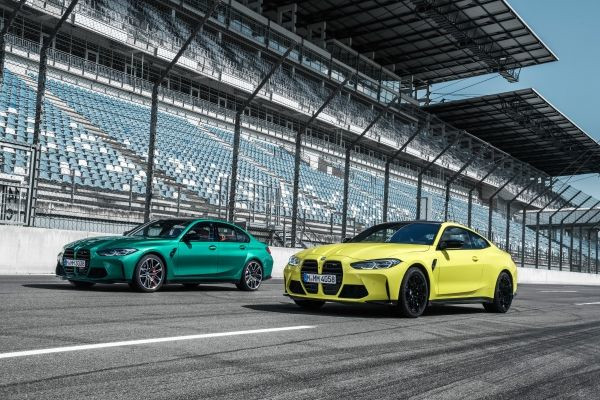 The new BMW M3 Competition Sedan, the new BMW M4 Competition Coupé and the new BMW 1000 RR