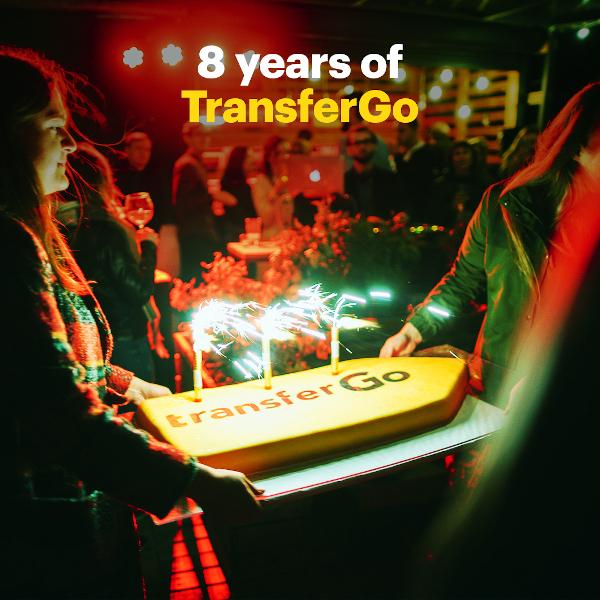 TransferGo_Aniversare 8 ani