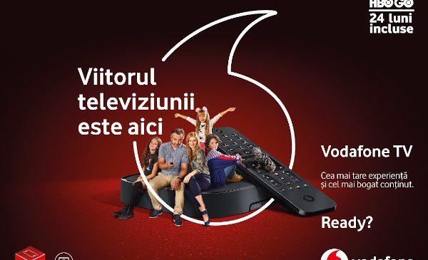 Vodafone revoluționează experiența TV cu un nou serviciu inovator, Vodafone TV, și introduce noi oferte de servicii convergente sub umbrela Vodafone ONE
