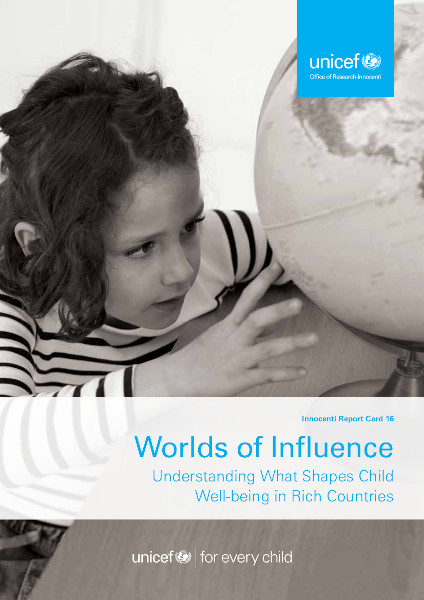 Worlds of Influence child wellbeing