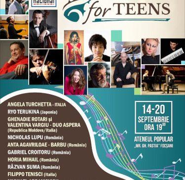 CLASSIC FOR TEENS – un nou proiect pentru tineri interpreţi de muzică clasică