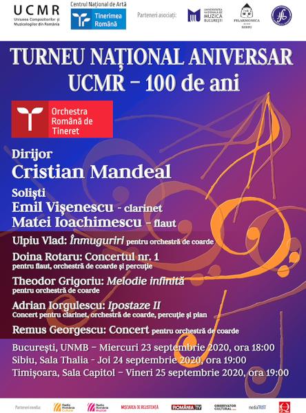 afis Turneu UCMR 100 - 2020