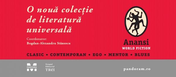 banner ANANSI. World Fiction