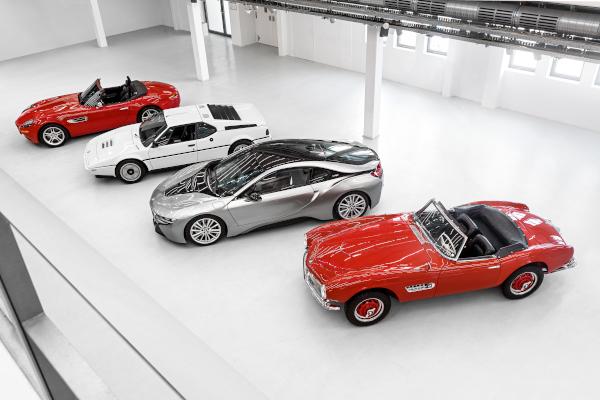 BMW Z8 prezent si viitor BMW i8
