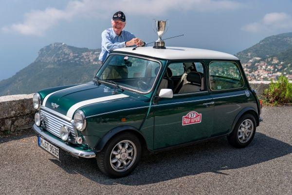 classic Mini und Patrick Paddy Hopkirk