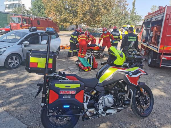 Fundația pentru SMURD LIDL România motociclete Galati
