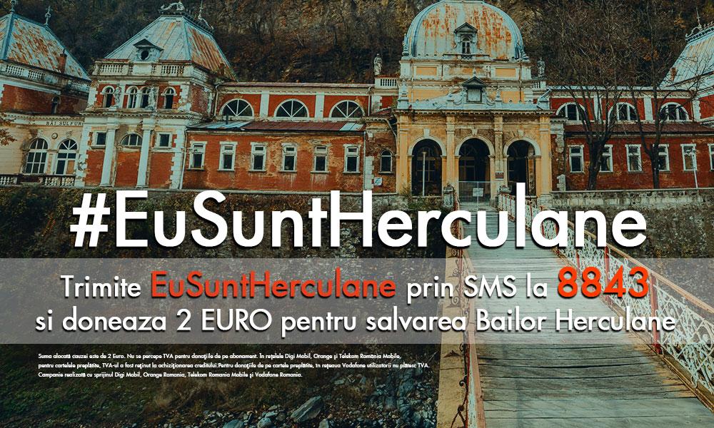 #EuSuntHerculane campanie