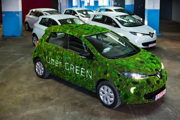 flota uber green
