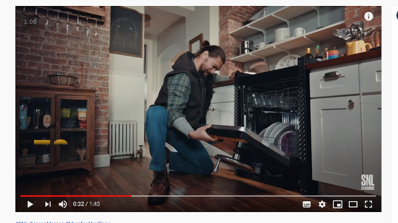 GE Big Boy Appliances SNL Jason Momoa