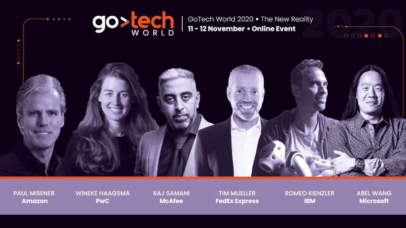 GoTech World 2020 speakeri