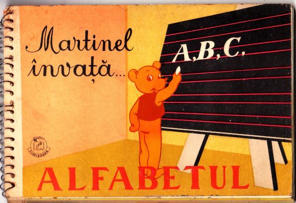 Martinel invata alfabetul - Scoala de altadata Mega Mall Muzeul jucariilor