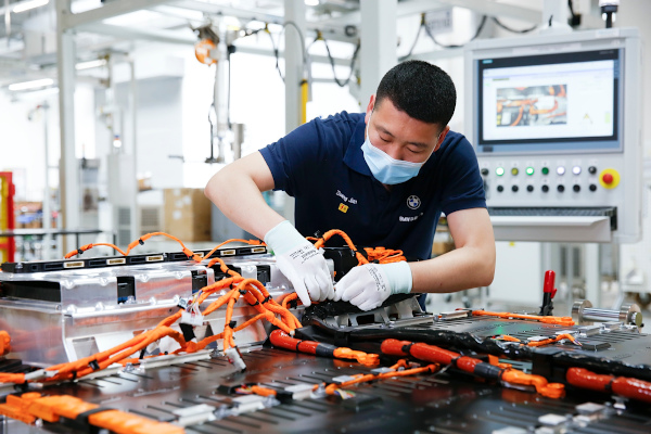 BMW Brilliance Automotive baterii China