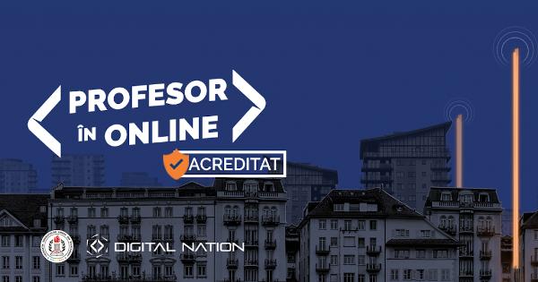 Profesor în Online acreditat MEC