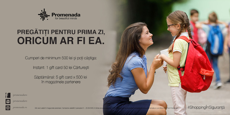 Promenada Mall Back to school oferte