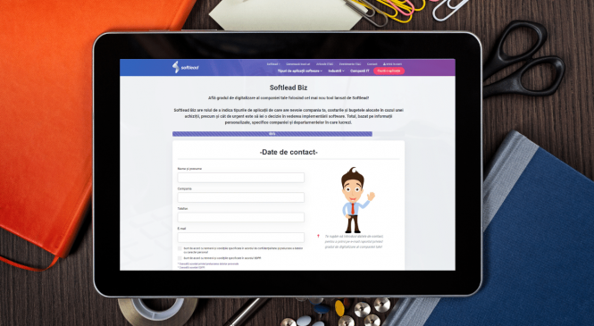 Softlead lansează primul instrument de scoring al gradului de digitalizare din companii