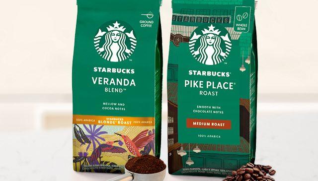 Cafeaua Starbucks® vine la tine acasă