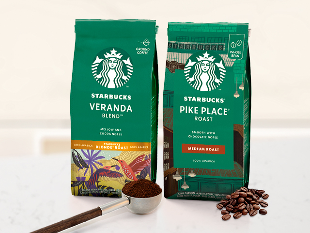 Cafeaua Starbucks® acasa