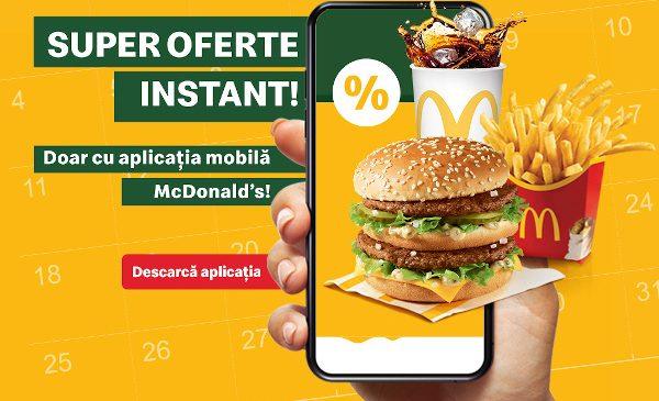 Aplicația mobilă McDonald's are peste 1,5 milioane de utilizatori în doar un an și jumătate de la lansare