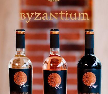 Gama de vinuri Byzantium, produsă de Crama THE ICONIC ESTATE, își dezvăluie noua identitate vizuală: eleganță, glorie, mister