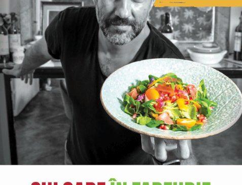 CULOARE ÎN FARFURIE cu Radu Dumitrescu, un nou show culinar autohton, din 19 octombrie la TV Paprika